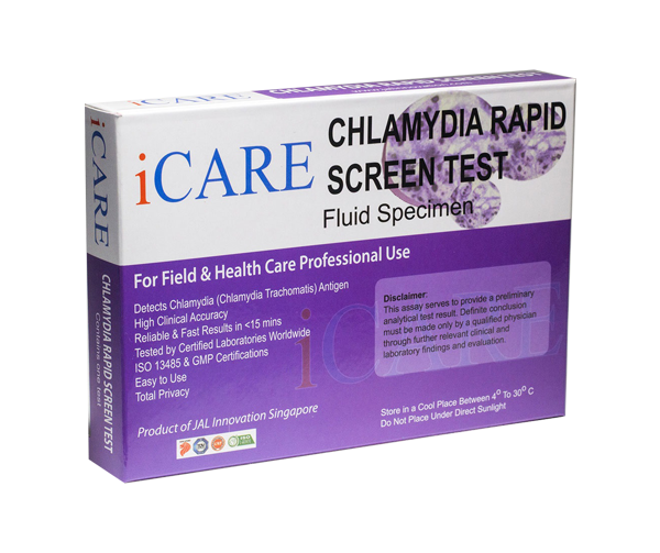 iCare Chlamydia home-test