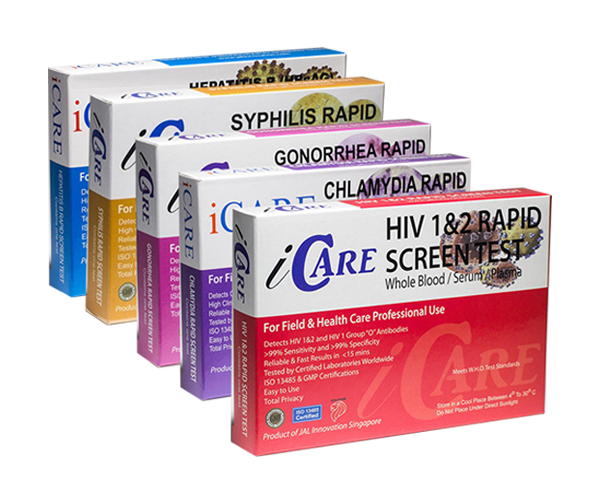 iCare HIV & STDs complete package