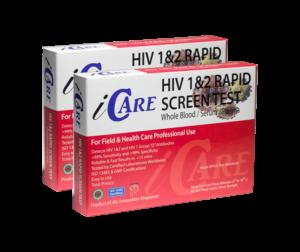 iCare HIV-hjemmetest dobbeltpakke