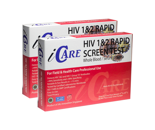 2 HIV-Tests iCare double-package